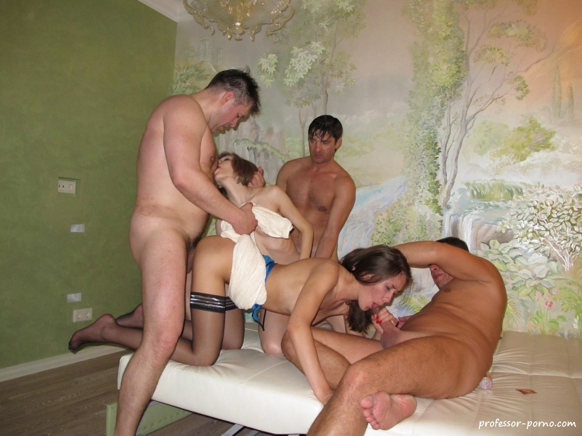 gangbang party porno