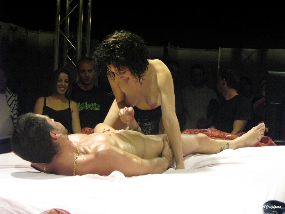 Porno Bühne