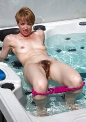 Nackt Im Whirlpool