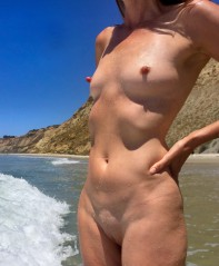 Baden nackt frauen Geile Frau